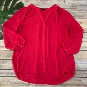 NYDJ bright pink 3/4 sleeve top